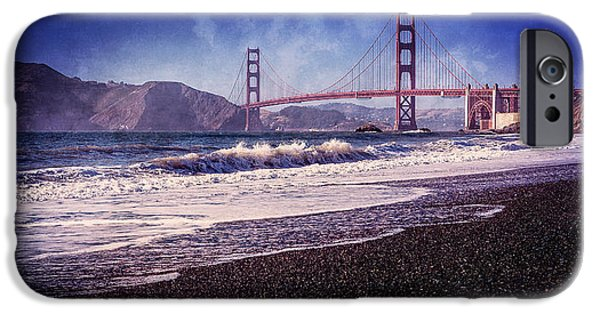Golden Gate iPhone Cases - Golden Gate iPhone Case by Everet Regal