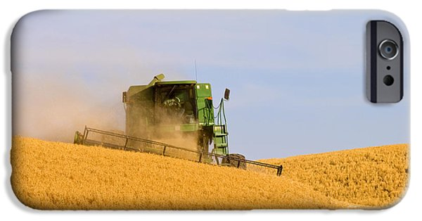 Combine iPhone Cases - Golden Harvest iPhone Case by Mike  Dawson
