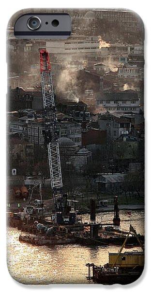 Golden Haze in Istanbul iPhone Case by John Rizzuto
