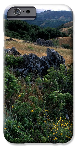Golden Hills of Summer iPhone Case by Kathy Yates