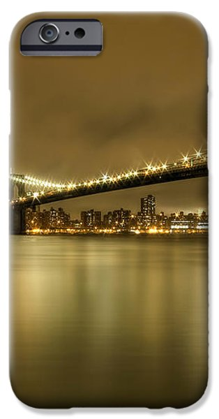 Golden Night iPhone Case by Evelina Kremsdorf