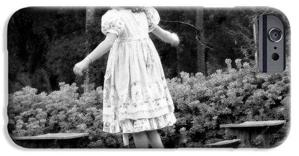 Little Girl iPhone Cases - Goldilocks iPhone Case by Karen Wiles