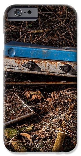 Gone Camping iPhone Case by John Farnan