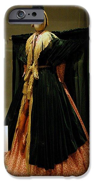 Smithsonian Museum iPhone Cases - Gone With the Wind - Carol Burnett iPhone Case by LeeAnn McLaneGoetz McLaneGoetzStudioLLCcom
