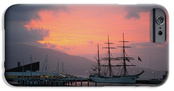 Tall Ship iPhone Cases - Gorch Fock iPhone Case by Gaspar Avila