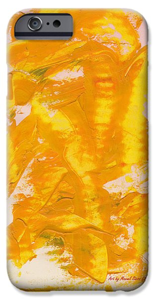 Swiss Mixed Media iPhone Cases - Gracious Dragon iPhone Case by Manuel Sueess