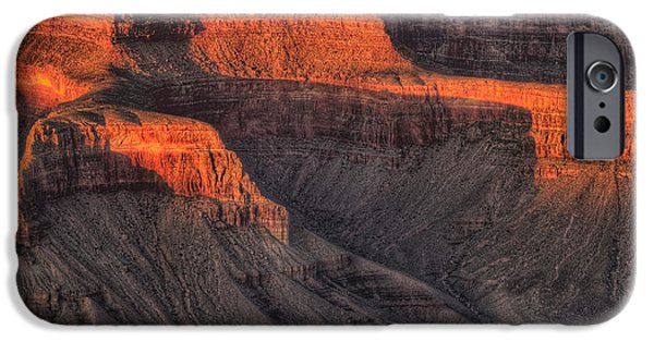 Grand Canyon iPhone Cases - Grand Canyon Light iPhone Case by Steve Gadomski