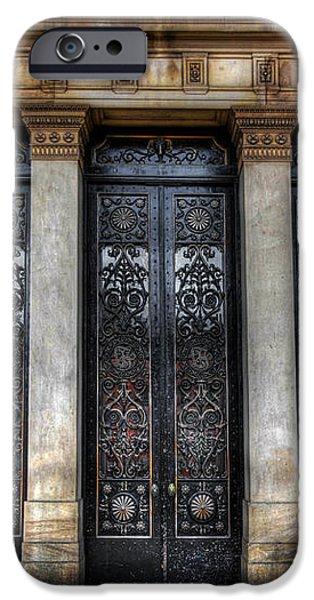 Grand Door - Leeds Town Hall iPhone Case by Yhun Suarez