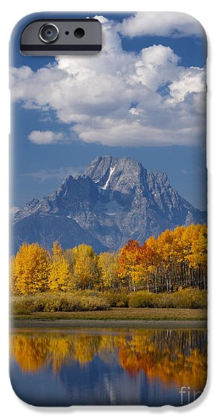 Grand Teton XII iPhone Case by John Blumenkamp