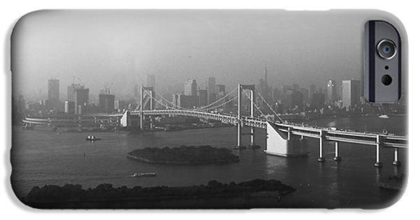 History iPhone Cases - Grand View of Tokyo iPhone Case by Naxart Studio