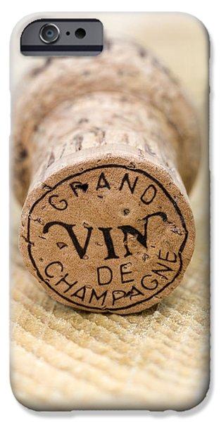 Grand vin de Champagne iPhone Case by Frank Tschakert