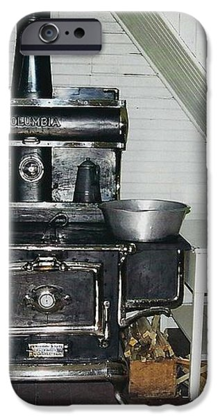 Grandma's Kitchen iPhone Case by Shirley Sirois