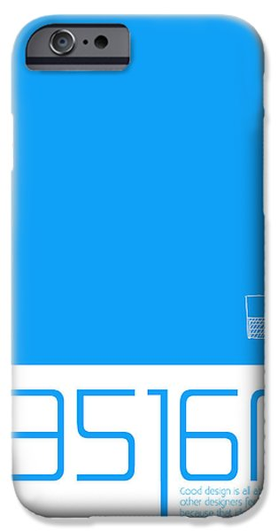 Grank Chimero Quote Poster  iPhone Case by Naxart Studio