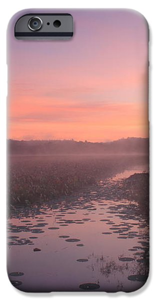 Great Meadows National Wildlife Refuge Dawn iPhone Case by John Burk