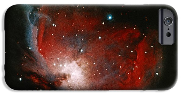 Stargazing iPhone Cases - Great Nebula In Orion iPhone Case by Science Source
