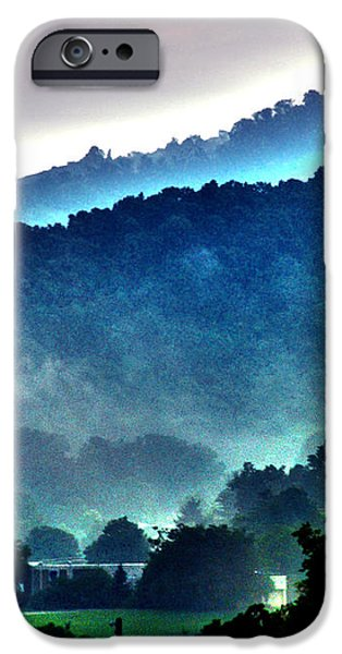 Great Smokey Mountains iPhone Case by Susanne Van Hulst