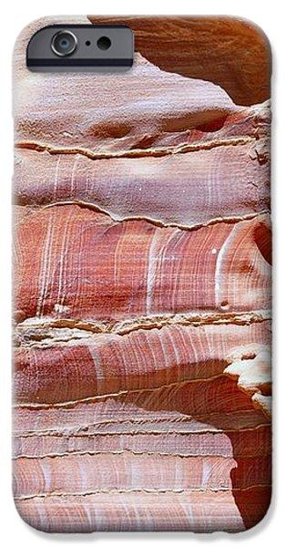 Great Wall of Petra Jordan iPhone Case by Eva Kaufman