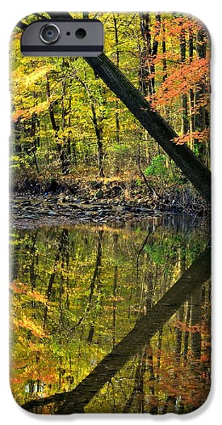 Oak Creek iPhone Cases - Greater Than iPhone Case by Frozen in Time Fine Art Photography