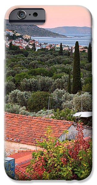 Greek Village  iPhone Case by Emmanuel Panagiotakis