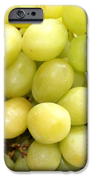 Green Grapes and Mum iPhone Case by Barbara Griffin