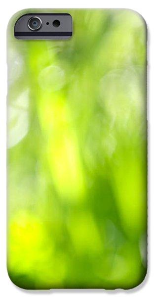 Green grass in sunshine iPhone Case by Elena Elisseeva