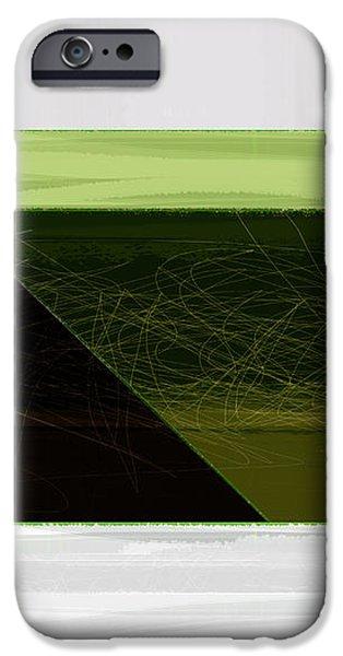 Green Mountain iPhone Case by Naxart Studio