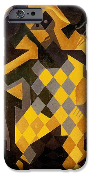 GRIS: HARLEQUIN iPhone Case by Granger