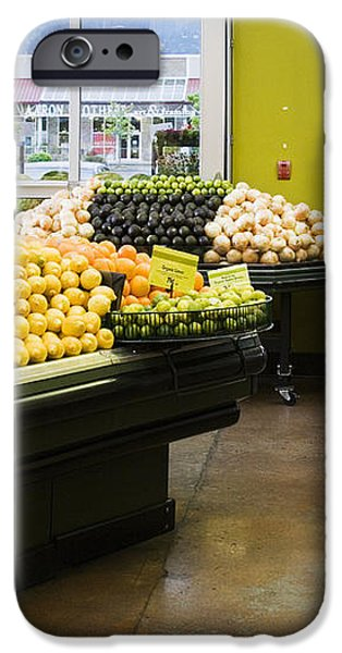 Grocery Store Produce Section iPhone Case by Andersen Ross