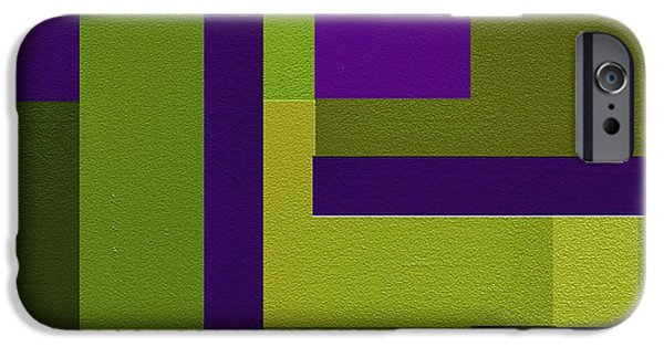 Geometrical Art iPhone Cases - Groovy iPhone Case by Ely Arsha