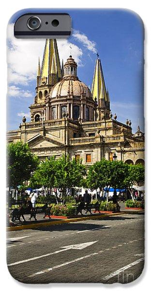 Guadalajara Cathedral iPhone Case by Elena Elisseeva