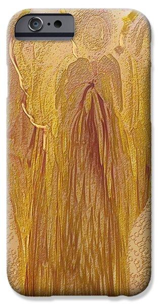 Guardian Angel iPhone Case by Linda Sannuti