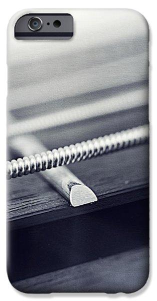 guitar IV iPhone Case by Priska Wettstein