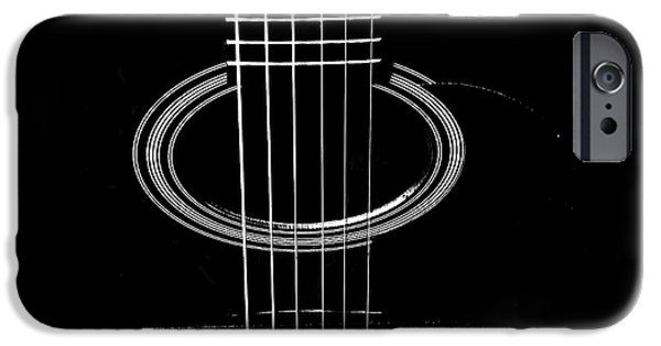 Guitar Strings iPhone Cases - Guitar Strings iPhone Case by Susan Stone