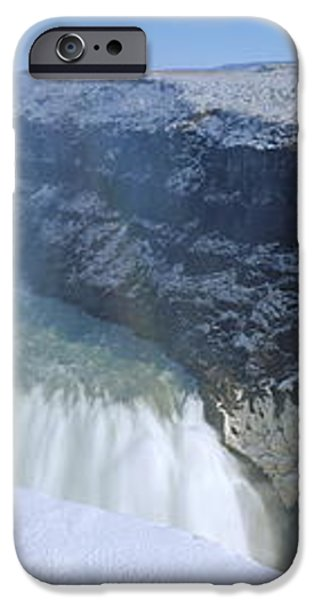 Gullfoss Falls iPhone Case by Chris Madeley