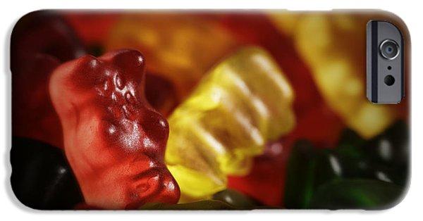 Bite iPhone Cases - Gummi Bears iPhone Case by Rick Berk