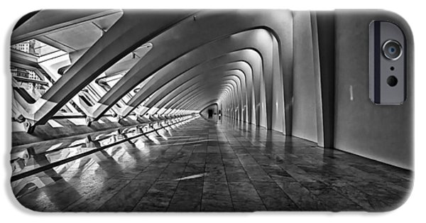 Cj iPhone Cases - Hallway of Repetition iPhone Case by CJ Schmit