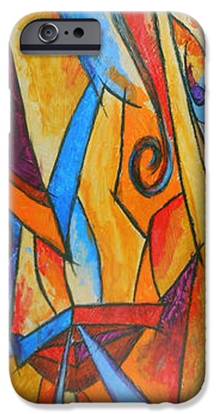 Hammer Paintings iPhone Cases - Hammer Head iPhone Case by Bobby Jones