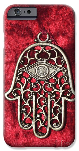 Hamsa  iPhone Case by Shay Levy
