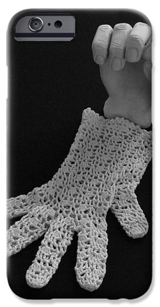 Hand and Glove iPhone Case by Barbara St Jean