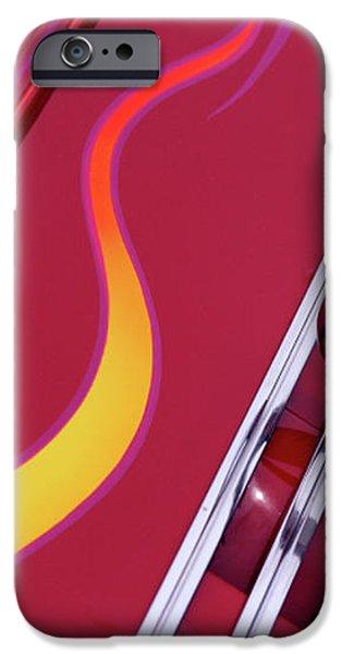 Handel iPhone Case by Rebecca Cozart