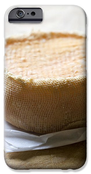 Cheese iPhone Cases - Handmade raw milk goat cheese from Extremadura - Spain iPhone Case by Frank Tschakert