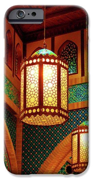 hanging lanterns iPhone Case by Farah Faizal