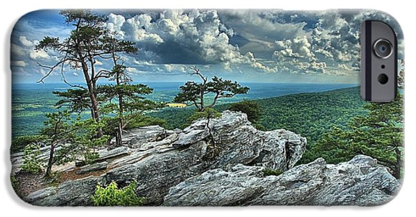 Best Sellers -  - Ledge iPhone Cases - Hanging Rock Overlook iPhone Case by Adam Jewell