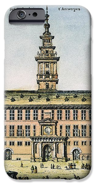 HANSEATIC LEAGUE, ANTWERP iPhone Case by Granger