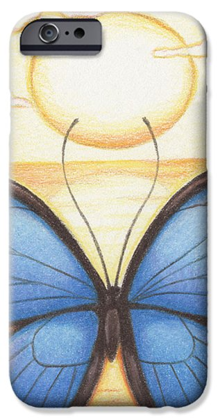 Aceo iPhone Cases - Happy Heart iPhone Case by Amy S Turner
