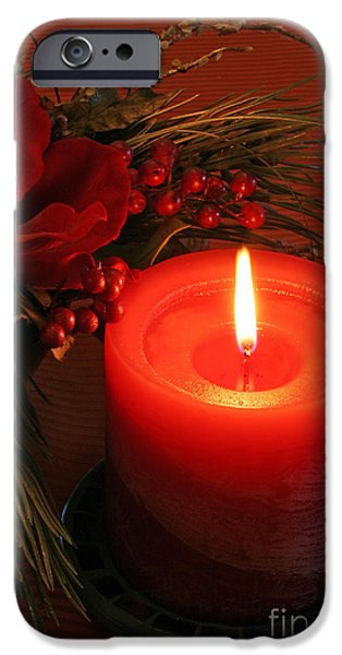 Christmas Greeting iPhone Cases - Happy Holidays #1 iPhone Case by Teresa Zieba