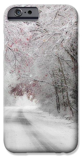 Happy Holidays - Clarks Valley iPhone Case by Lori Deiter