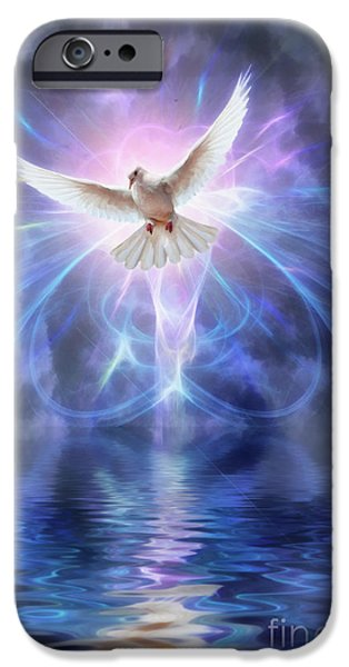 Religious iPhone Cases - Harbinger iPhone Case by John Edwards