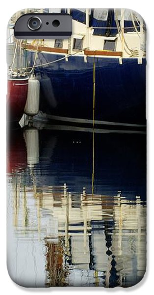 Harbor Reflections  iPhone Case by Bob Christopher