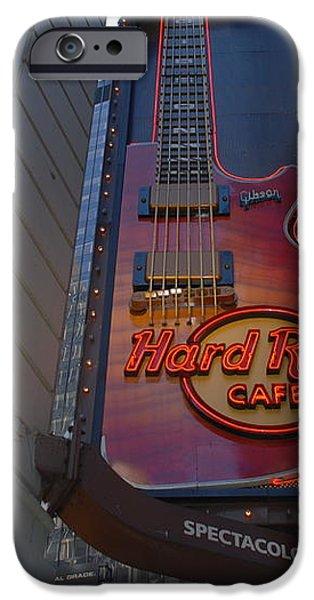 HARD ROCK CAFE N Y C iPhone Case by ROB HANS